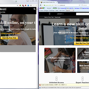 What happened to Lynda.com? Landing page is ugly.