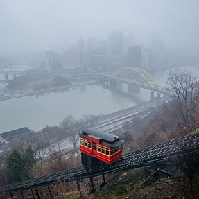 Pittsburgh In The Fog