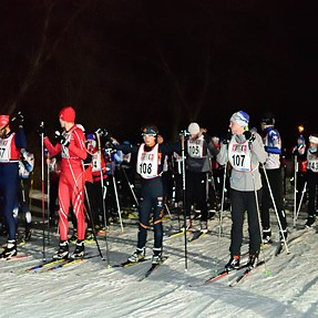 D500 at ISO 20,000+ night ski race