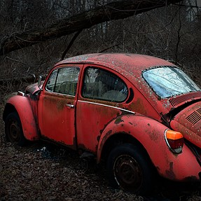 1970 VW Beetle, Red, Low Mileage