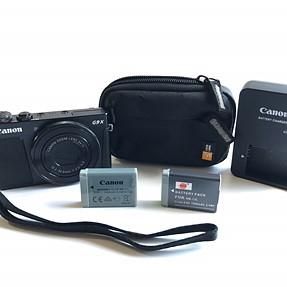 Canon PowerShot G9X 20.2MP Digital Camera (Black)