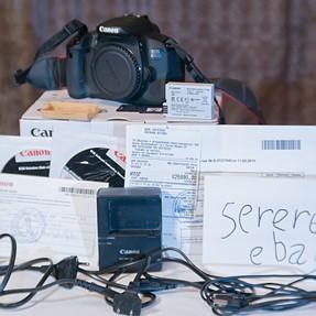 Canon EOS 650D ( Kiss X6i / Rebel T4i ) body only, PAL\NTSC, exc++, sht: 1165