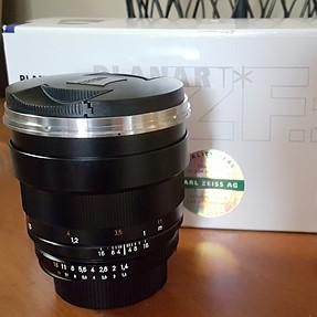 FS: $700 Zeiss Planar T* 85mm 1.4 ZF.2 - Nikon, Sony, Fuji