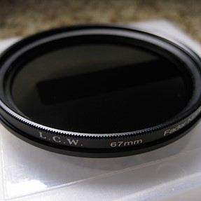 Light Craft Workshop 67mm fader Mark II variable ND polarizer neutral
