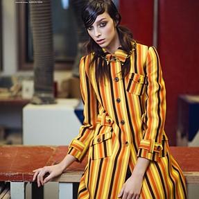 Brazilian Model Larissa Marchiori for ELLE by me