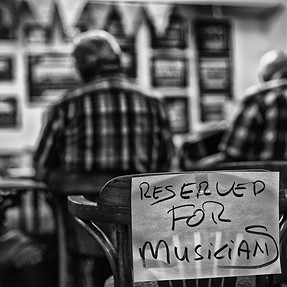 Reserved For Musicians