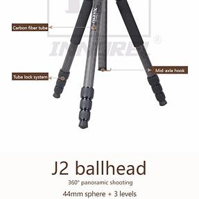 Experience Carbon Tripod L334C & Ballhead 44mm?