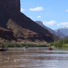 Rule of Thirds, Colorado river
