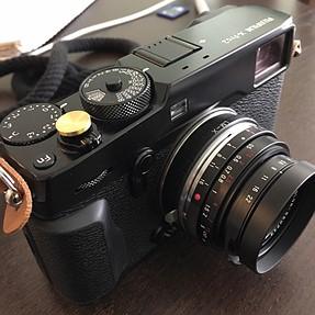 Voigtlander 21mm f4 on my FujiXpro2 / FOCUSING PROBLEM
