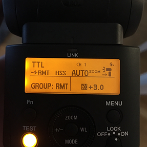 Sony HVL-F45RM as optical slave not triggered