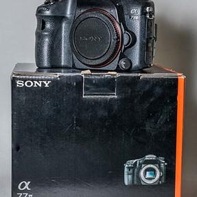 Sony A77ii body only