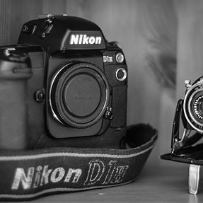 My new Nikon D1H!