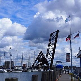 Port Huron draw-bridge