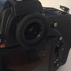 Nikon D750 Round eyepiece