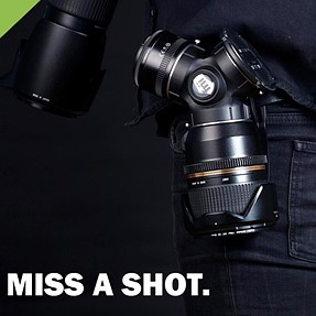 Question about the new Trilens quick-change, belt-mounted lens carrier