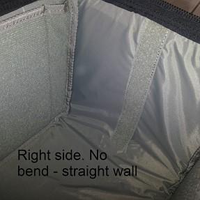 Tamrac Stratus 15 having a bent wall
