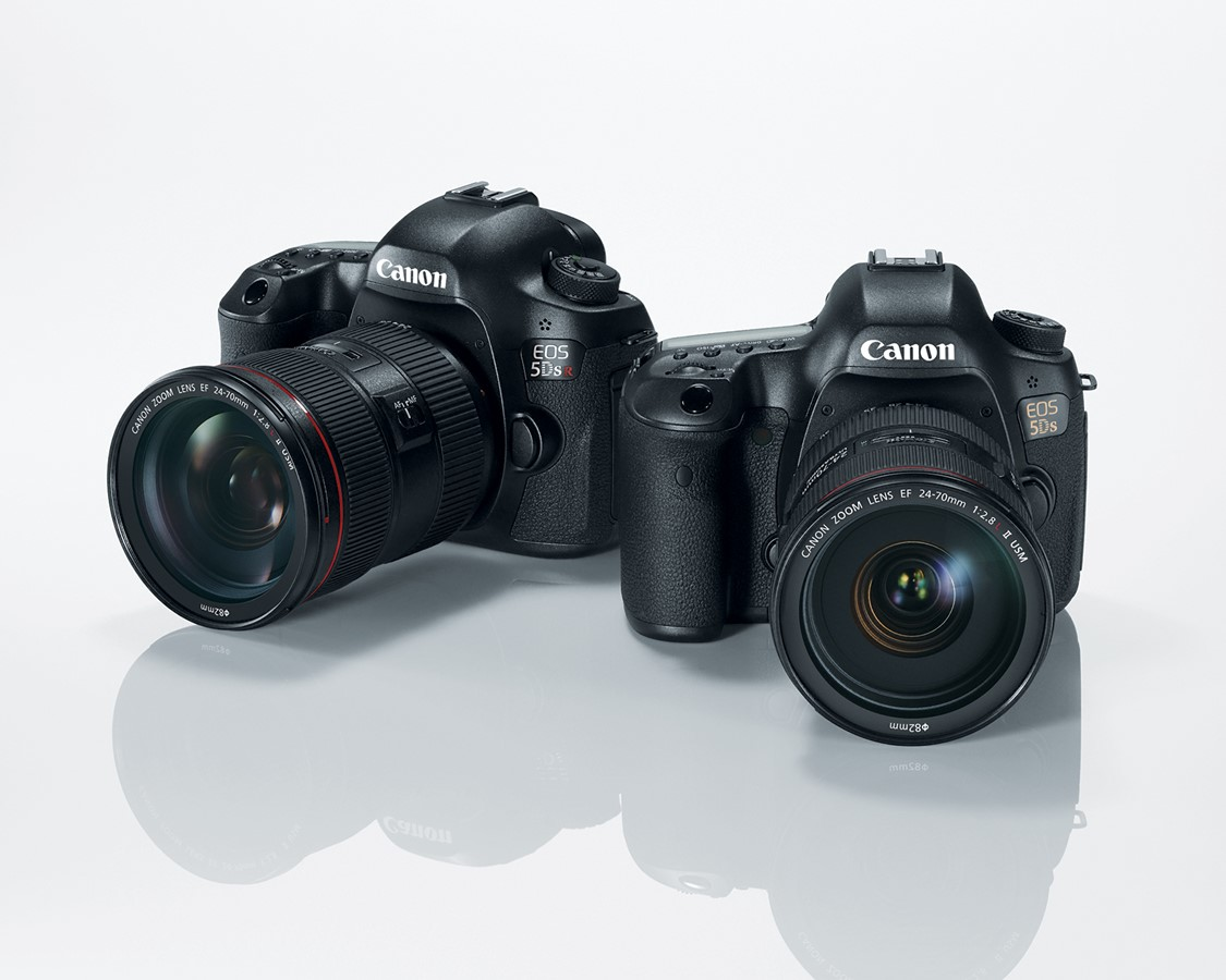 50MP Canon EOS 5DS and 5DS R offer maxed-out resolution, slimmed ...