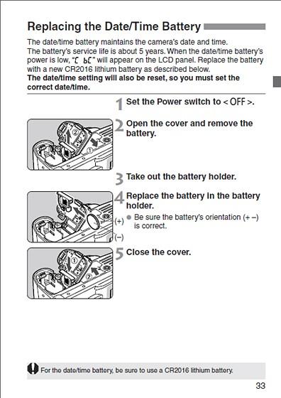 Canon Rebel EOS Digital Wont Turn On: Canon Rebel (EOS 200D