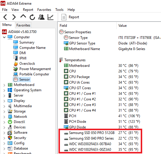 Thermal Comparison - SSD vs HDD: PC Talk Forum: Digital Photography