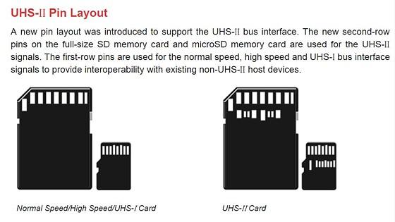 UHS 57 pin