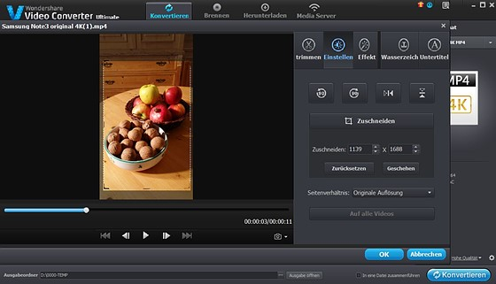 Re how to rotate 4k video file its very simple digital video no exif data ccuart Choice Image