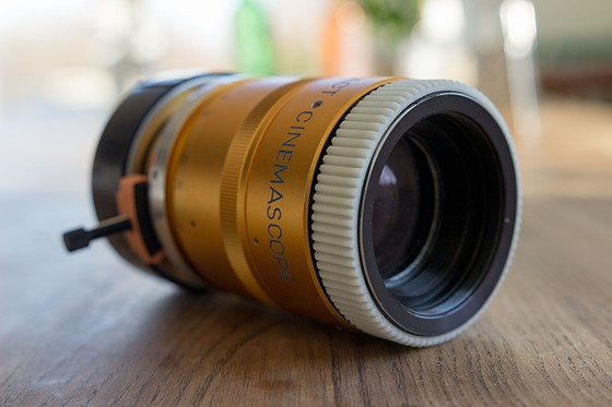 Sankor 2x Single focus Anamorphic Cinemascope Lens: For Sale