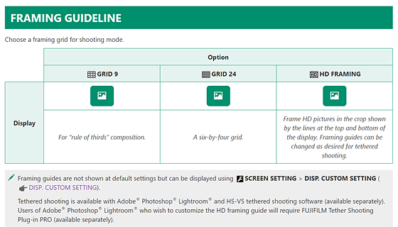 Re: GFX framing guidelines > try this...: Medium Format Talk Forum ...