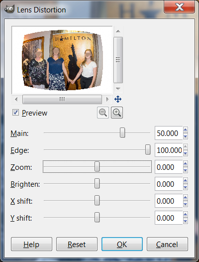 That is not lens distortion : Retouching Forum: Digital Photography