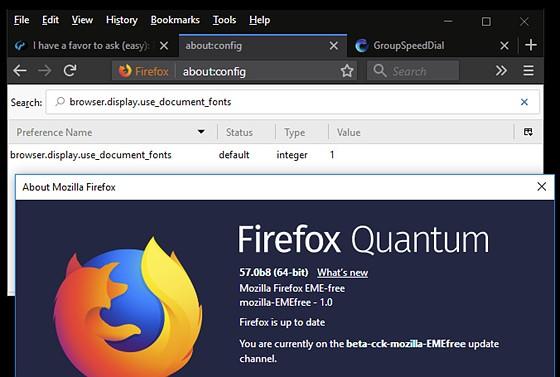 Firefox Quantum Beta: PC Talk Forum: Digital Photography Review