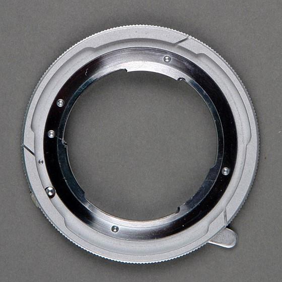 CK's Lens Post: Canon Lens Mount Converter E -- Exakta to FD