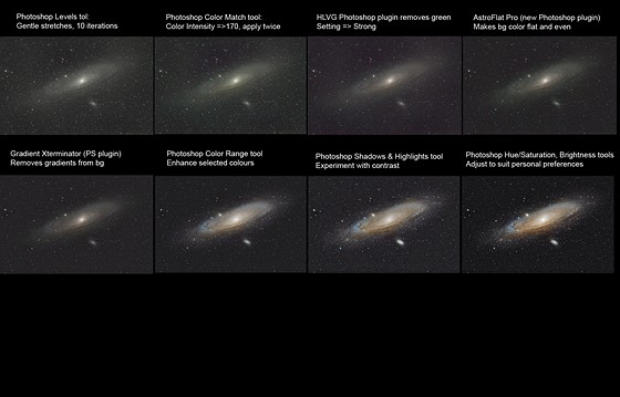 Andromeda Galaxy - M31, reprocessed: Astrophotography Talk