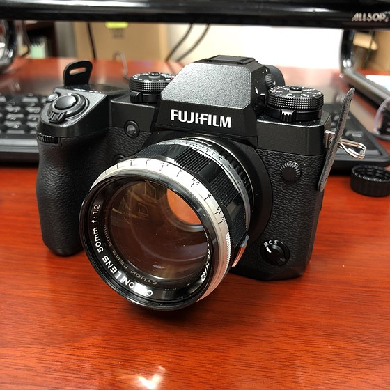 New toy with old lens: Adapted Lens Talk Forum: Digital Photography