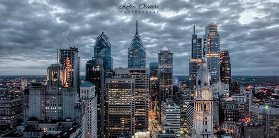 philadelphia city skyline at night nikon dx slr d40 d90 d3000