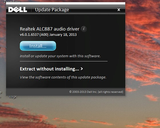 Re: KB4464330 killed the audio driver on my Dell XPS 15