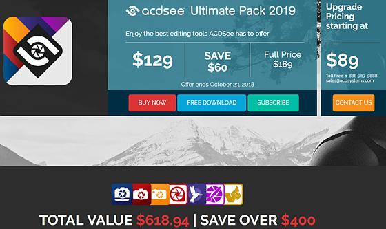 Buy now acdsee ultimate 9