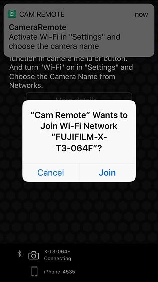 X-T3 Camera Remote connection problem: Fujifilm X System