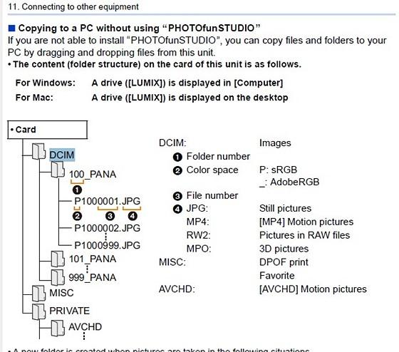 Re: DMC-ZS50 how to move pics to my laptop: Panasonic Compact Camera