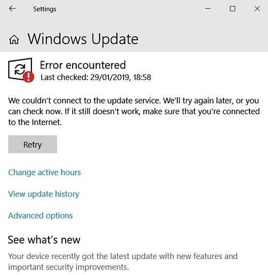 Windows Update (Down?): PC Talk Forum: Digital Photography Review