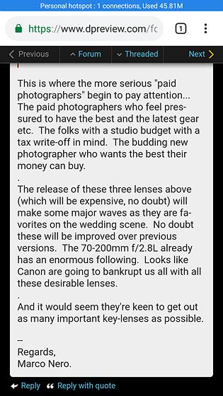 Re:    Bahahahaha   : Canon EOS M Talk Forum: Digital Photography Review