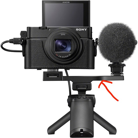 Can you help me find this accessory bar?: Sony Cyber-shot