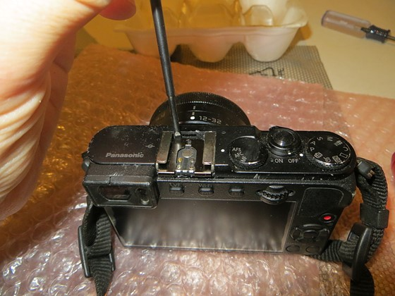 HOWTO: GM5 scroll wheel repair: Micro Four Thirds Talk Forum