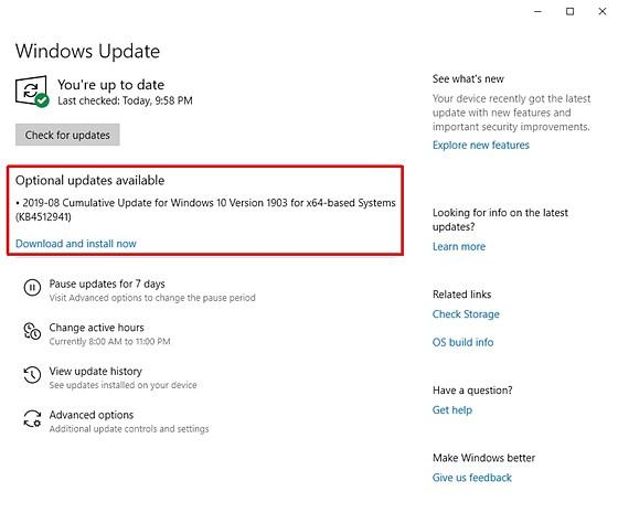 Latest Windows 10 update fail   : PC Talk Forum: Digital
