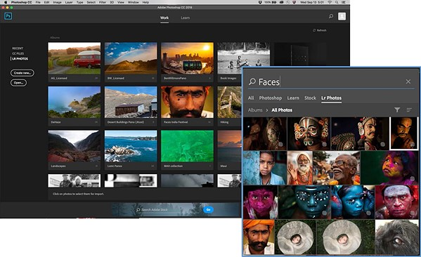 Adobe updates Photoshop CC with new tools, 360° image editing, HEIF