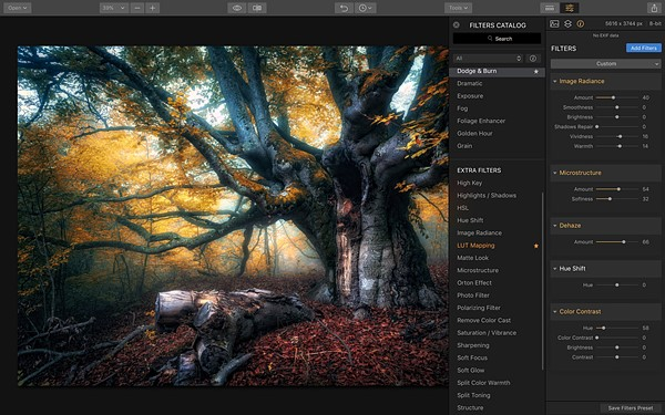 Macphun unveils luminar 2018 takes on adobe lightroom cc digital heres a closer look at the interface ccuart Images