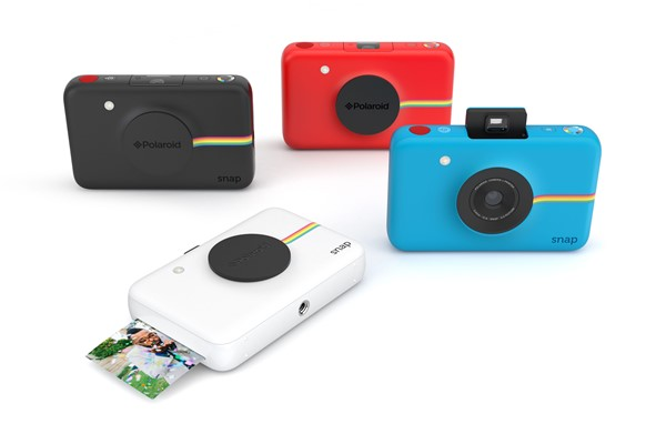 "polaroid snap instant digital camera prints 2x3"" pos: digital ..."