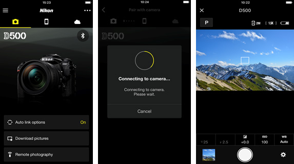 Nikon's redesigned SnapBridge app adds full manual camera control