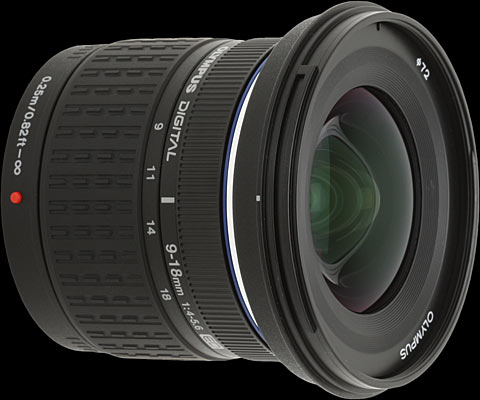 The Zuiko Digital ED 9 18mm 14 56 Is Olympuss Latest All New Lens Design Announced In May 2008 It Sits Companys Standard Series Of Lenses
