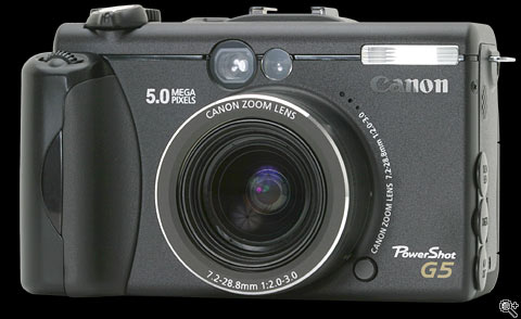 canon powershot g5 review: digital photography review