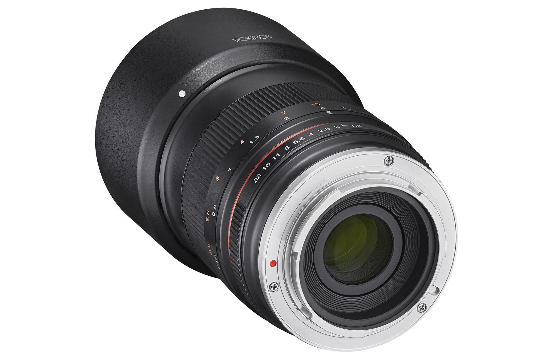Samyang announces 85mm F1 8 lens for APS-C mirrorless cameras
