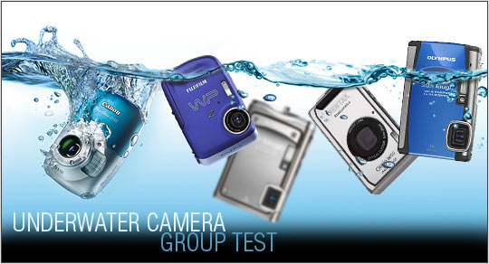 Waterproof' Camera Group Test (Q2 2009): Digital Photography Review